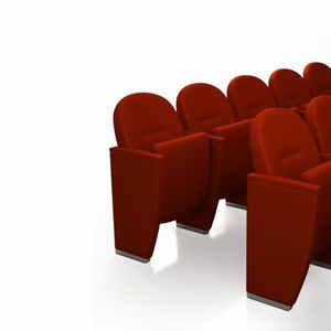 METROPOLITAN CLASSIC, Sillón de teatro clásico con asiento abatible