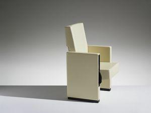 MURA, Sillón de cine con asiento reclinable y respaldo
