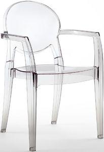 PL 2355, Sillón impermeable transparente, para al aire libre