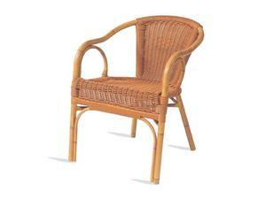 PL 403, Silla con brazos, asiento y respaldo de xiloplast