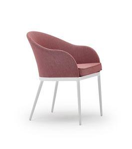 Saia sillón, Sillón de exterior, con estilo moderno, para jardines y bares