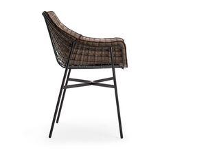 Summer set sillón, Sillón de acero adecuado para entornos de barras y al aire libre