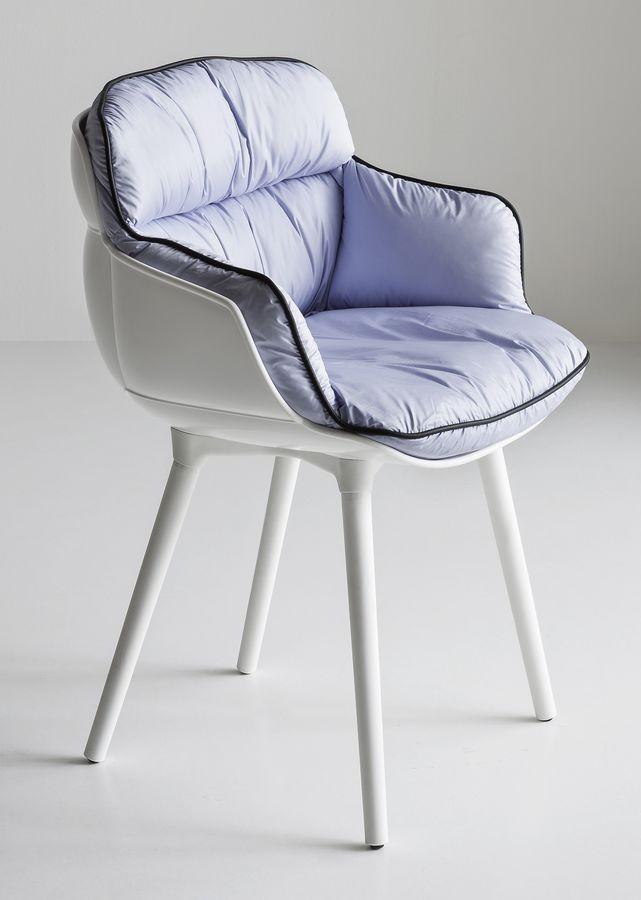Choppy BP, Sillón de diseño en el polímero, para sala de espera
