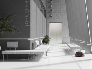 CUBE PLUS, Asientos de vigas modulares para salas de espera