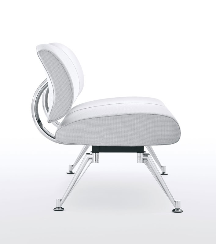 Kondor, Banco modular, asiento y respaldo tapizados, para salas de espera
