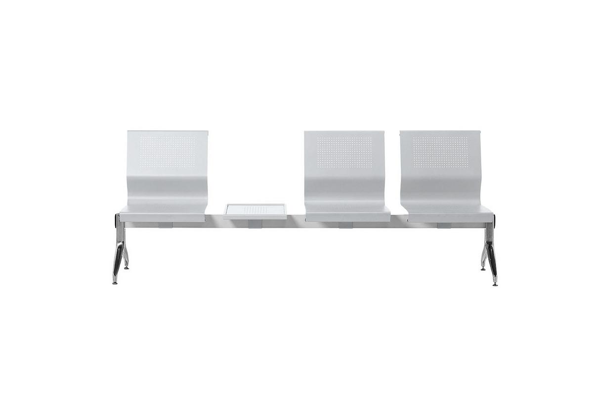 Korus Alu, Sentado en una viga de acero, patas de aluminio