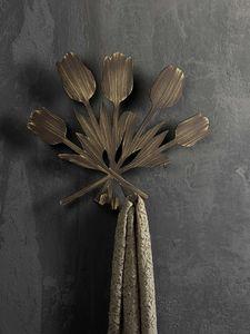 Bouquet gancho para ropa, Colgador de pared de metal, en estilo moderno