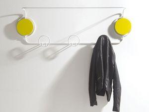 Doppio, Pared de metal moderno abrigo, para bares y ambientes residenciales