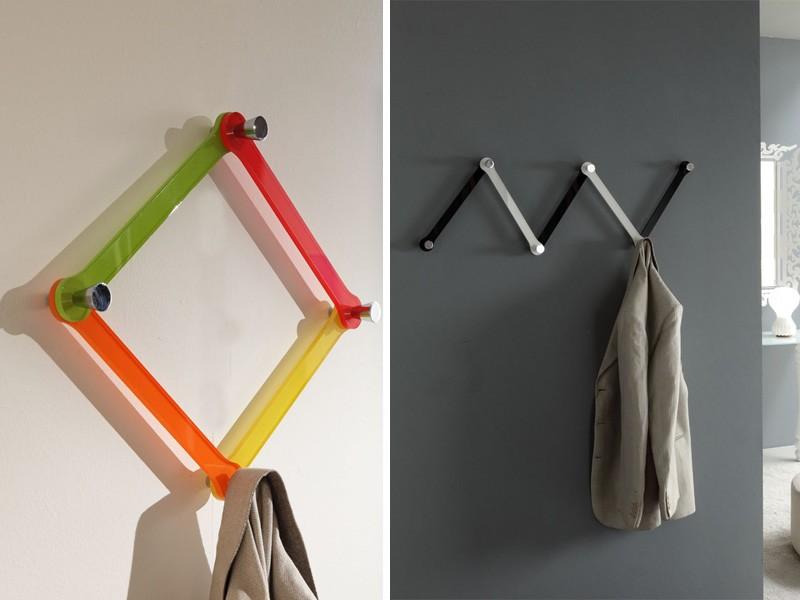 k123 bobi, Colgadores de pared modulares, hechas de plexiglás