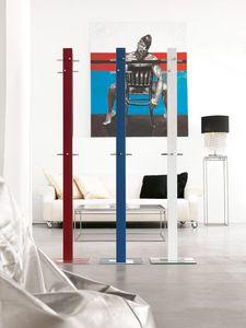 k203 palito, Perchas modernas de metal pintado