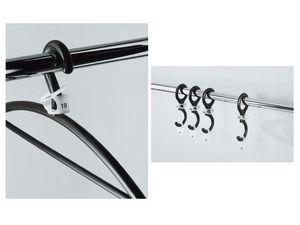 Ometto, Percha de elastómero flexible para oficinas