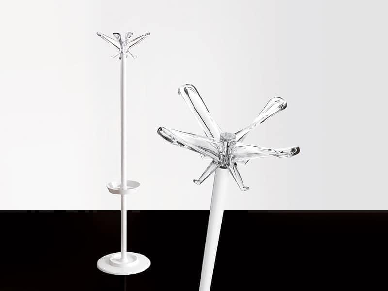 Swing coat stand, Capa de metal de pie: de oficina