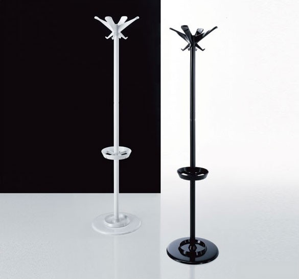 Swing coat stand, Capa de metal de pie: de oficina