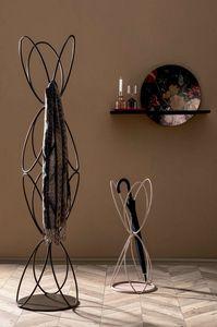 VANITY, Perchero y perchero en alambre de metal lacado