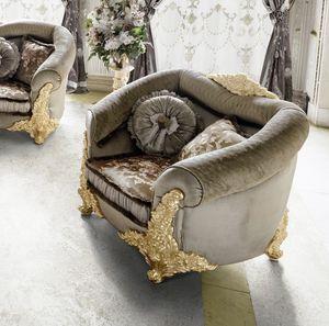 Amina sillón, Sillón redondeado clásico