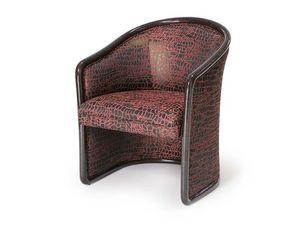 Art.168 armchair, Silla prueba de fuego para zonas de espera, de estilo clásico