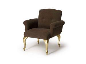 Art.207 armchair, Sillón de estilo clásico para salas de espera y hoteles