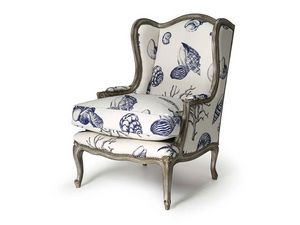 Art.320 armchair, Sillón en madera de haya, estilo Luis XV