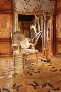 Art. 65, Tallado silla dorada, para los comedores de lujo