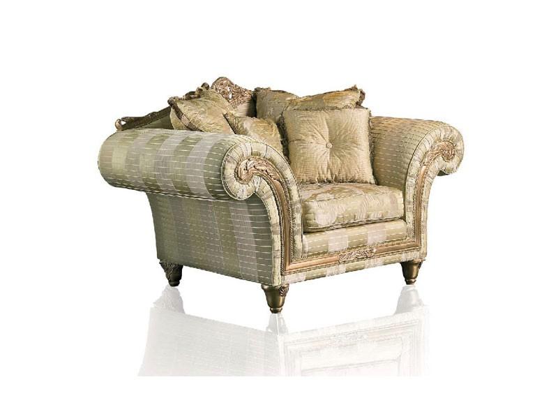 Art. IM 21 Imperial, Sillón con asiento profundo, elegante tapicería extraíble