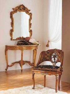 Aureola sillón, Sillón de estilo Luis XVI