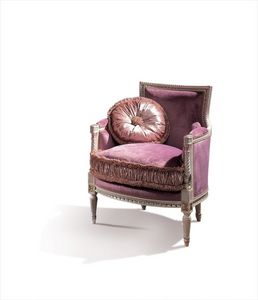 Conversation 99, Sillón clásico con asiento y respaldo tapizados