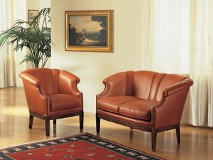 Emma, Preciosamente decorada sillón, para vivienda de lujo