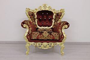 Maria sillón, Sillón clásico con respaldo medallón