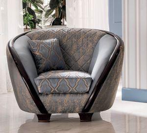 Modigliani sillón, Sillón de formas armoniosas