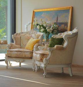 Serena sillón, Sillón lujoso hecho a mano