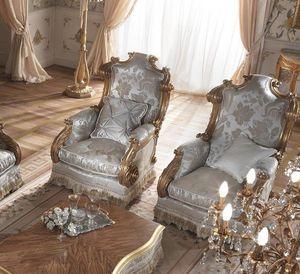 Barone sillón, Sillón clásico con respaldo alto
