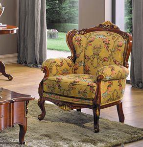 Chippendale sillón, Sillón de diseño clásico