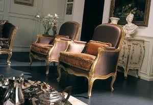 Delizia Sillón, Sillón con un diseño clásico.