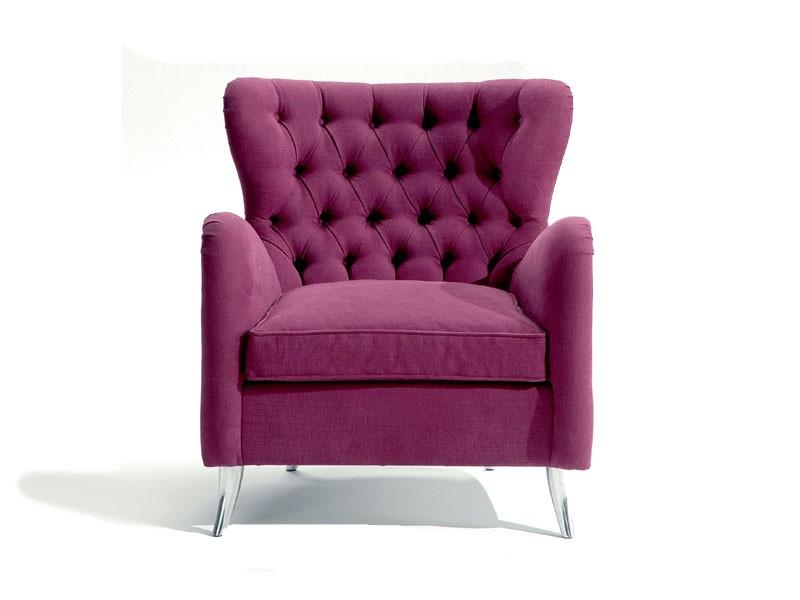 Giulietta, Bergère sillón, rellenado, acolchado, mano hecha a mano