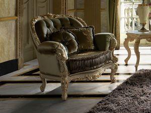 Grace sillón, Sillón clásico tallado