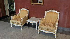 Impero, Sillones decorados por artesanos italianos
