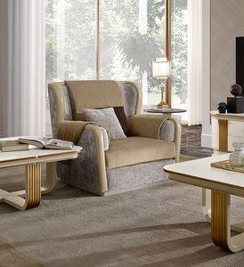 Oliver Art. OL91, Cómodo sillón con acolchado de memoria.