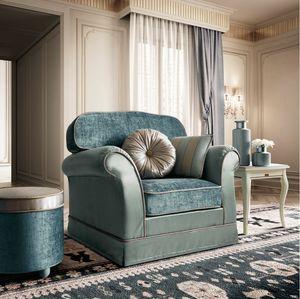 Treviso sillón, Sillón de formas suaves