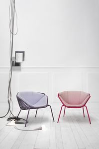 ART. 0081-MET-LOUNGE SKIN, Sillón colorido y moderno