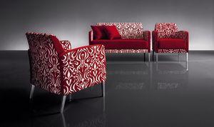ART. 950 HOLLYWOOD ARMCHAIR, Sillón con líneas modernas, para sala de televisión