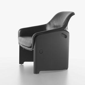 Avus silla 1920-12, Silla alta de diseño, plástico, acolchada con poliuretano
