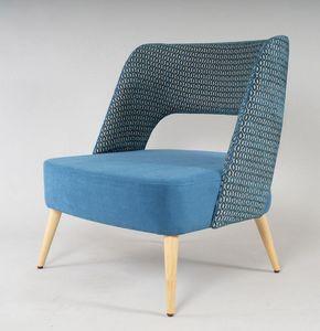 BS491P - Sillón, Cómodo sillón con asiento grande