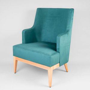 BS601P - Sillón, Cómodo sillón acolchado