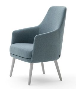 Danielle 03641, Chaise longue con asiento ancho