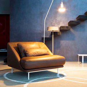 Daytona Sillón, Sillón con formas sinuosas, para sala de estar y áreas de relajación
