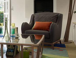 Wave sillón, Sillón para salas de estar contemporáneas
