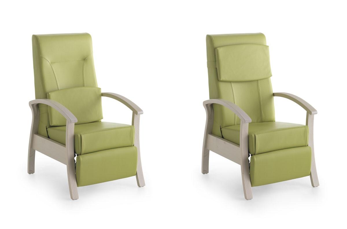 Silver Age 08 EV, Estable y la silla de relajación, descanso, para las personas de edad avanzada