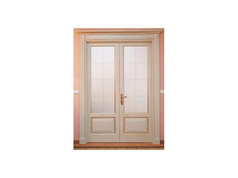 Este 2, De doble ala puerta de la placa del listón, acabado ceniza rascado, para comedor del hotel