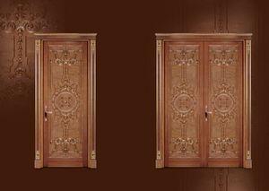P100 Puerta, Puerta tallada para Vivir en estilo clásico y lujoso