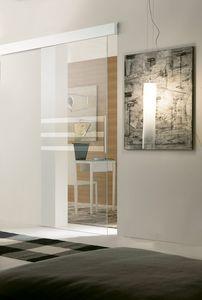p400 panama, Puerta para albañilería, estructura de aluminio, para los hoteles